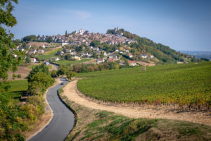 Chateau de Sancerre - An incredible tasting experience at the heart of the region's terroirs - View to the village of Sancerre