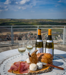 Chateau de Sancerre - Tasting at the top of the Fiefdom Tower