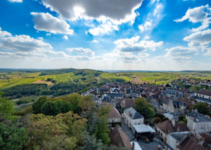 Chateau de Sancerre - Panoramic view from the Fiefdom Tower
