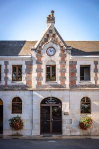Château de Sancerre - Entrée du chai