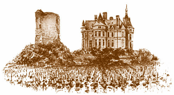 Chateau de Sancerre - Drawing of the Castle